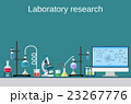 Lab worker table computer chemical research  23267776