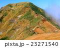 谷川連峰・一ノ倉岳から見る雲湧く茂倉岳 23271540