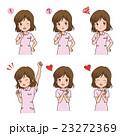 女性 バリエーション 看護師のイラスト 23272369