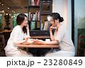 カフェ コーヒーブレイク 女性の写真 23280849
