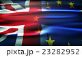 Flags of the United Kingdom and the European Union 23282952