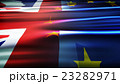 Flags of the United Kingdom and the European Union 23282971
