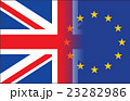 Flags of the United Kingdom and the European Union 23282986