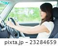 女性 運転 車の写真 23284659