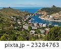 Balaklava is popular Crimean resort. Bay former 23284763