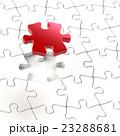 ジグソーパズルのイラストCG 23288681
