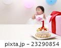 誕生日 バースデー (赤ちゃん ケーキ プレゼント ベビー パーティー 乳児 女の子 1歳 1才) 23290854