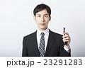携帯電話 ビジネスマン スマートフォンの写真 23291283