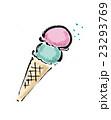 アイス アイスクリーム スイーツのイラスト 23293769