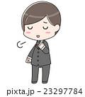 男性 スーツ ビジネスマンのイラスト 23297784