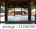 大宮 氷川神社・舞殿と拝殿 23298789