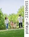 公園 家族 親子の写真 23299455