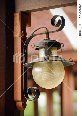 Round lantern in vintage style.の写真素材 [23300862] - PIXTA