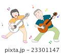 ギター演奏を楽しむ高齢者 23301147