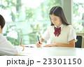 中学生 勉強 女の子の写真 23301150
