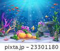 海 大洋 ベクターのイラスト 23301180