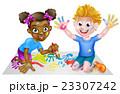 児童 子ども 子供のイラスト 23307242