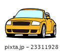 自動車 オープンカー 乗り物のイラスト 23311928