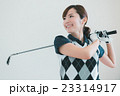 Japanese woman golfer , housewife 23314917