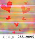 ハートの背景イメージ 23319095
