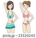 水着 ビキニ 女性のイラスト 23320243