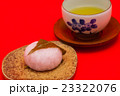 桜餅と煎茶 23322076