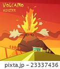Volcano Disaster Illustration 23337436