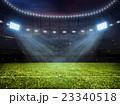 Soccer football stadium with floodlights 23340518