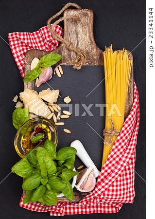 Mediterranean food. Pasta. 23341144