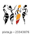 Beautiful dancers silhouette 23343876