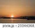 湊山公園の夕陽 23344368