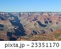夕方のグランドキャニオンの絶景 アメリカ アリゾナ 23351170