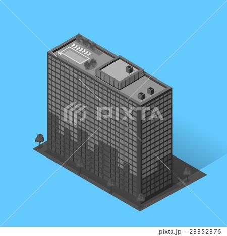 Skyscrapers House Building Iconのイラスト素材 [23352376] - PIXTA