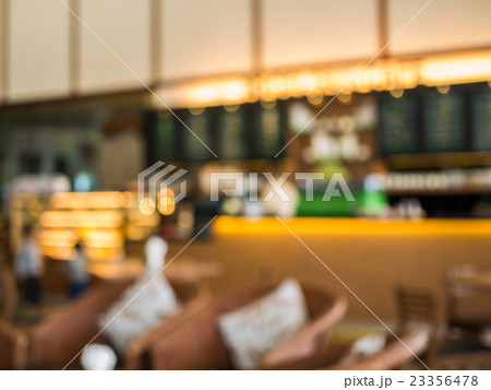 Blurred image of coffe shop or cafe 23356478