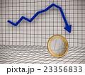 ビジネスグラフユーロ下落 23356833