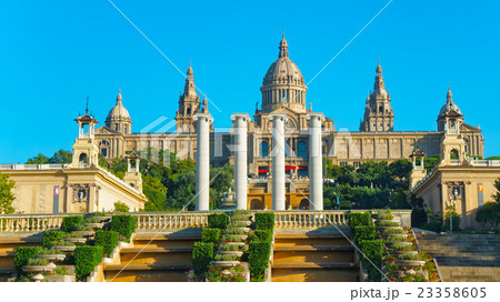 National Palace on the Montjuic hill in Barcelona 23358605