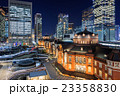 東京駅周辺の夜景 23358830