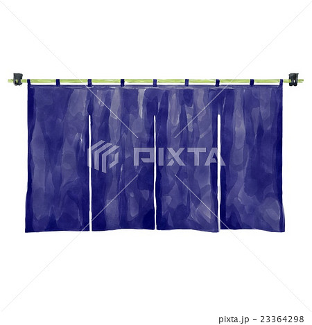 水彩画 のれんのイラスト素材 [23364298] - PIXTA