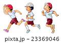 男の子 運動会 園児のイラスト 23369046