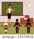 教室風景 先生 教師のイラスト 23374958