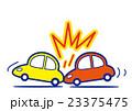 追突事故 事故 車のイラスト 23375475