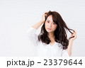 若い女性 23379644