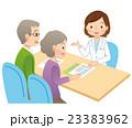 医療 説明 患者のイラスト 23383962