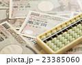 一万円札と算盤 23385060
