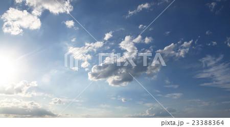 blue sky and clouds sky. 23388364