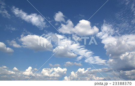 blue sky and clouds sky. 23388370