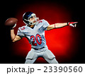 american football player man isolated 23390560