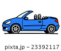 オープンカー 青 23392117