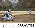 高校野球試合風景 23393754