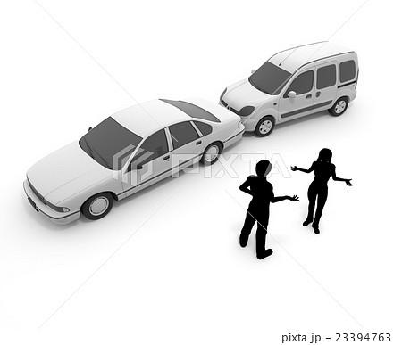 交通事故/玉突き/衝突 23394763